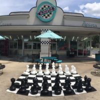t's a beautiful day to grab a few friends and enjoy some delicious fresh frozen custard & play a game of chess or relax on our patio!