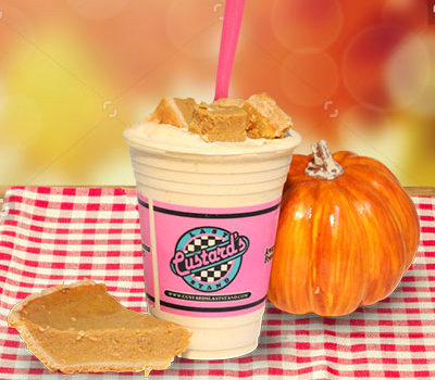 Pumpkin Pie Concrete—A Seasonal Favorite